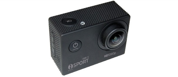Microtelecamera sport full hd 1080p 15fps con dvr isnatch